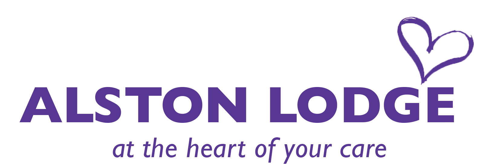 Alston Lodge - At the heart of your care logo booklet